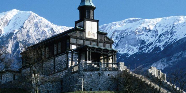 Javorca, Memorial Church of the Holy Spirit