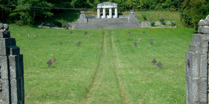Štanjel, Oostenrijks-Hongaars militaire begraafplaats WW1